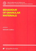 Behaviour of Granular Materials