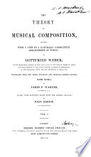 Theory of Musical Composition Book