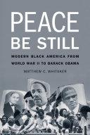 Peace Be Still ebook