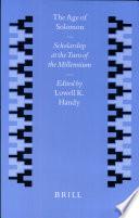 The Age of Solomon