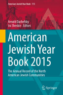 American Jewish Year Book 2015 Pdf/ePub eBook
