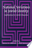 National Variations In Jewish Identity