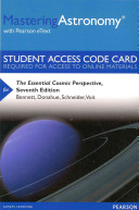 MasteringAstronomy with Pearson EText    Standalone Access Card    the Essential Cosmic Perspective