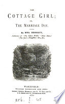 The cottage girl; or, The marriage day