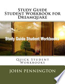 Study Guide Student Workbook for Dreamquake
