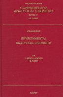 Environmental Analytical Chemistry