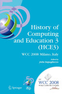 History of Computing and Education 3  HCE3  Book