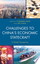 Challenges To China S Economic Statecraft Book PDF