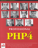 Professional Php4 Book