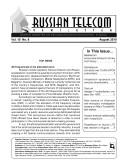 Russia Telecom Monthly Newsletter 08-10 [Pdf/ePub] eBook