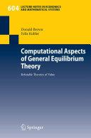Computational Aspects of General Equilibrium Theory Pdf/ePub eBook