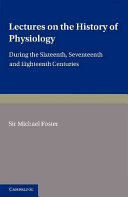 Lectures on the History of Physiology ebook