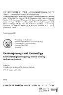 Geomorphology and Geoecology