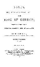 BOOK OF GENESIS ebook