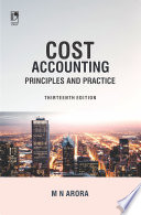 Cost Accounting  Principles   Practice  13th Edition