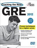 Cracking the New GRE, with DVD