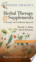 Winston   Kuhn s Herbal Therapy and Supplements Book