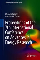 Proceedings of the 7th International Conference on Advances in Energy Research Book