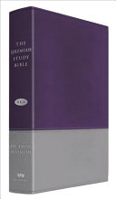 The Jeremiah Study Bible, NKJV: Gray/Purple LeatherLuxe®