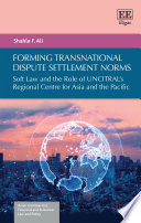 Forming Transnational Dispute Settlement Norms