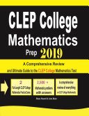 CLEP College Mathematics Prep 2019 Pdf/ePub eBook