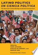 Latino Politics En Ciencia Politica
