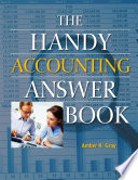 The Handy Accounting Answer Book Book