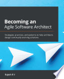Becoming an Agile Software Architect Book