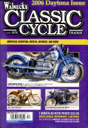WALNECK S CLASSIC CYCLE TRADER  APRIL 2006