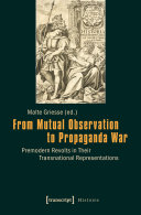 Pdf From Mutual Observation to Propaganda War