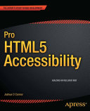 Pro HTML5 Accessibility [Pdf/ePub] eBook