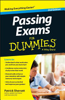 Passing Exams For Dummies Book