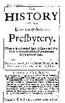 Pdf The History of the English & Scotch Presbytery