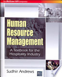 Human Resource Mgmt:Tb For Hospitality