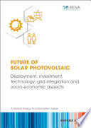 Future of solar photovoltaic Book