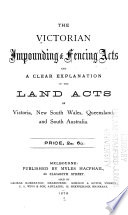 The Victorian Impounding & Fencing Acts
