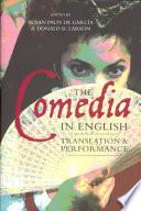 The Comedia in English