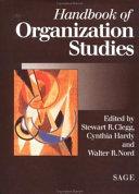 Handbook of Organization Studies
