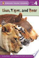 Lion Tiger And Bear