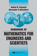 Handbook of Mathematics for Engineers and Scientists Pdf/ePub eBook