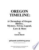 Oregon Timeline