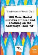 Shakespeare Would Cry Book PDF