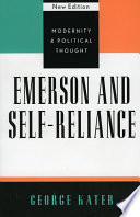 Emerson And Self Reliance Book