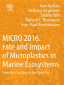 Pdf MICRO 2016: Fate and Impact of Microplastics in Marine Ecosystems Telecharger
