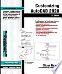 Customizing AutoCAD 2020  13th Edition