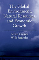 The Global Environment  Natural Resources  and Economic Growth