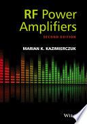 Rf Power Amplifiers Book PDF
