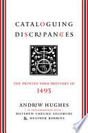 Cataloguing Discrepancies