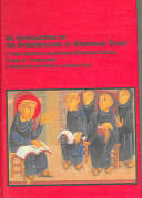 Cover art for An Introduction to the Interpretation of Gregorian Chant