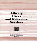 Library Users and Reference Services [Pdf/ePub] eBook